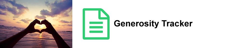 generosity-tracker